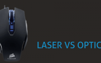 The difference between laser and optical mouse