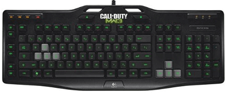 Logitech Gaming Keyboard G105 Call of Duty: MW3 Edition